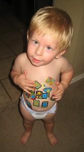 Sticker Boy